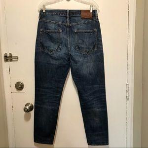 All Saints Nile Taper Fit blie denim jeans size 33